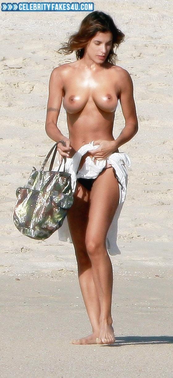 Canalis topless elisabetta Clooney ex