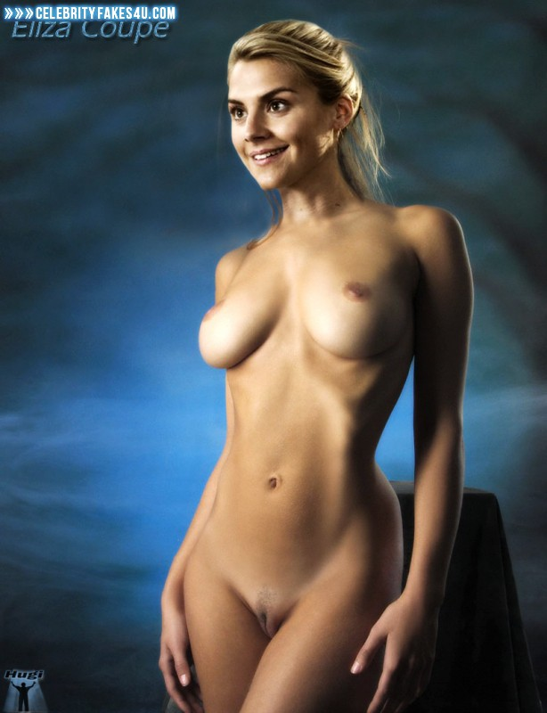 Eliza Coupe Fake, Big Tits, Blonde, Naked Body, Nude, Tits, Porn