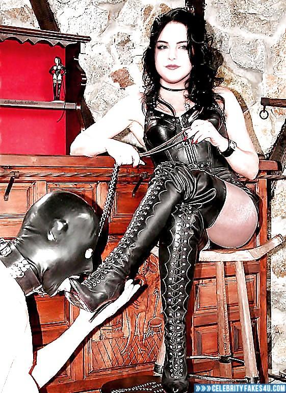 Elizabeth Gillies Fake, BDSM, Dominatrix, Porn