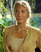 Elizabeth Mitchell Lord Of The Rings See Thru Fake 001