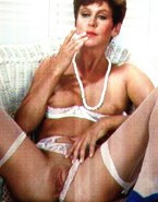 Elizabeth Montgomery Lingerie Move Panties Aside 001