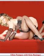 Ellen Pompeo Lesbian Lingerie Xxx Fake 001