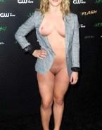 Emily Bett Rickards Boobs Public Porn Fake 001