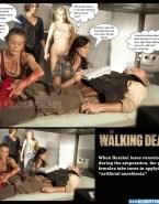 Emily Kinney Boobs Walking Dead Nsfw 001