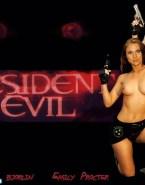 Emily Procter Resident Evil Topless 001