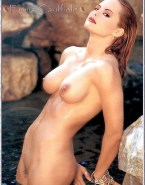 Emma Caulfield Wet Naked Body Fake 001
