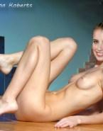 Emma Roberts Nude Body Tits Fake 003