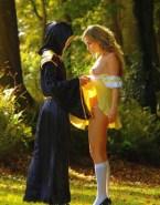 Emma Watson Boobs Outdoor Nude Fake 001