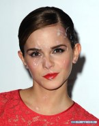Emma Watson Cum Facial Fake 007