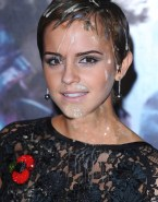Emma Watson Cum Facial Fake 041