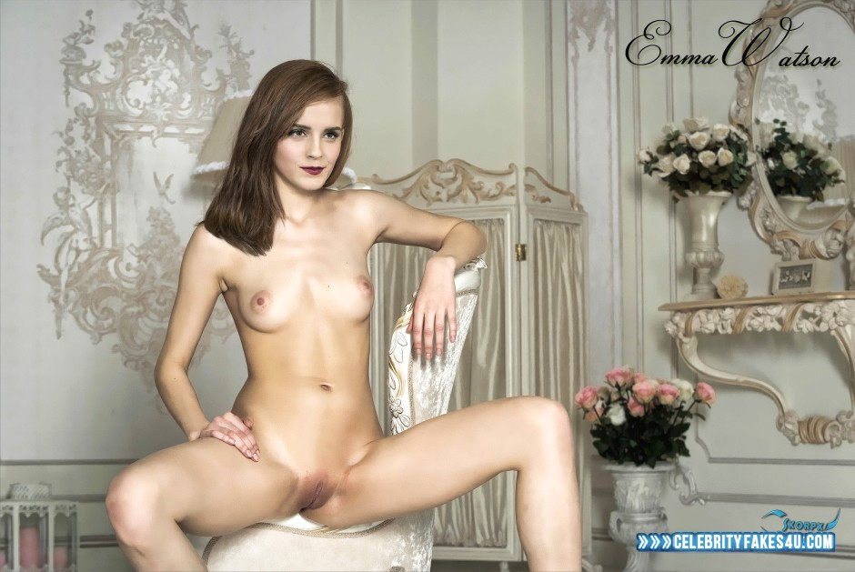 Emma Watson Fake, Brunette Hair, Camel Toe, Interracial Sex, Legs Spread, Lipstick, Nude, Pussy, Reverse Cowgirl Sex, Riding Sex, Sex, Small Tits, Tits, Porn