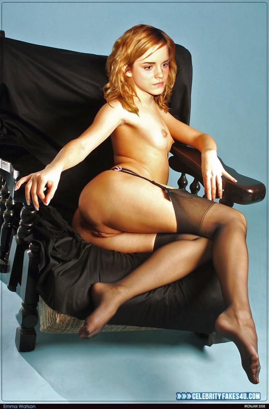 Nackt fake emma watson Emma Watson: