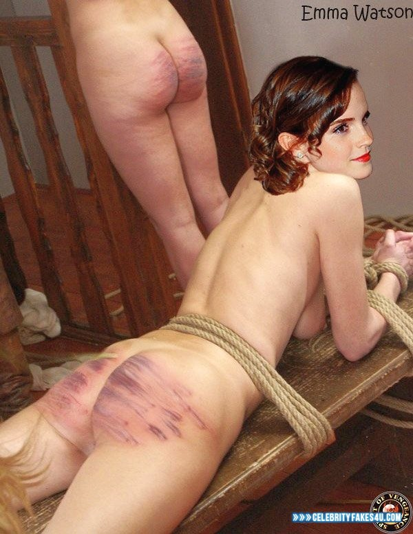 Emma watson spanked