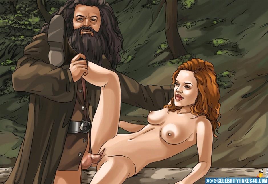harry potter anime fake nude
