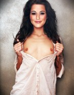 Emmanuelle Chriqui Flashing Tits Small Boobs Nude Fake 001