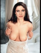 Erin Gray Lingerie Titty Flash Porn 001