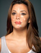 Eva Longoria Cum Facial Fakes 001