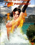 Famke Janssen Wet Movie Cover Xxx Fake 001