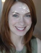 Felicia Day Facial Cumshot 001