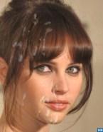 Felicity Jones Facial Cumshot 001