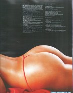 Fiorella Flores G String Magazine Cover Fake 001