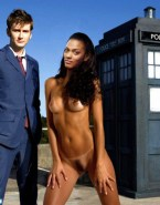 Freema Agyeman Public Nude Body Fake 001