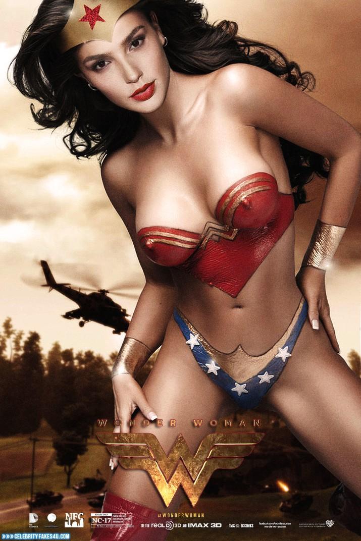 Gal Gadot Movie Cover Wonder Woman Porn 001 « Celebrity