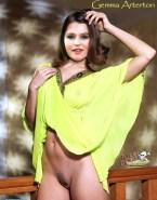 Gemma Arterton Upskirt Pussy Porn Fake 001