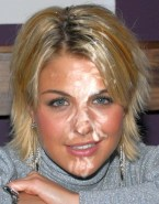 Gemma Atkinson Blonde Cum Facial Fake 001