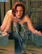 Gillian Anderson Bondage Nipple Torture 001