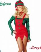 Gillian Anderson Costume X Mas Naked 001