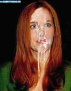 Gillian Anderson Cumshot Facial Nude 001