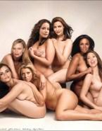 Gillian Anderson Lesbian Squeezing Tits Porn 001