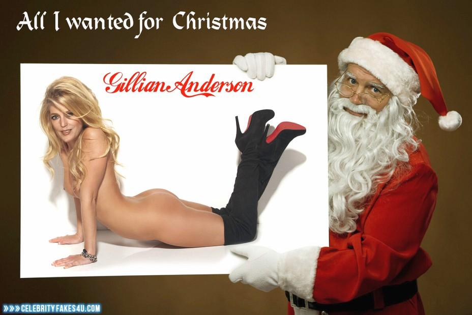 Gillian Anderson Fake, Ass, Nude, Porn