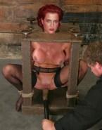 Gillian Anderson Sex Toy Bondage Porn 001