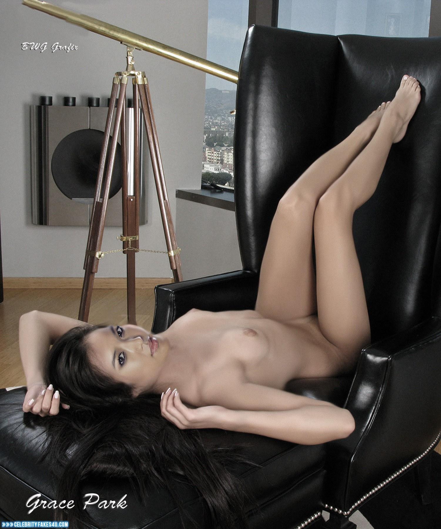 Grace Park Legs Boobs Nude 001  Celebrityfakes4Ucom-2654