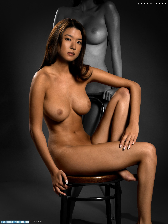 Grace park nude sex on couch deepfake porn