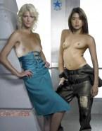 Grace Park Topless Lesbian Naked 001
