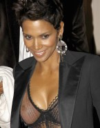 Halle Berry See Thru Public Naked 001