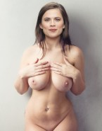 Hayley Atwell Naked Body Large Tits 001