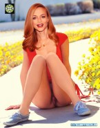 Heather Graham Pierced Exposed Pussy Up Skirt 001