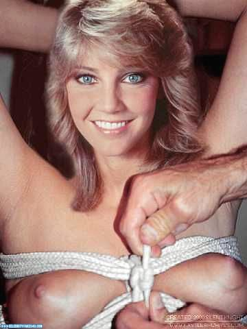 Heather Locklear Fake, BDSM, Bondage, Squeezing Breasts, Tits, Porn