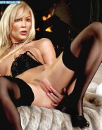 Heather Locklear Fingers Pussy Lingerie Naked 001