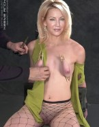 Heather Locklear Squeezing Tits Bondage 001