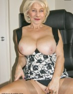 Helen Mirren Busty Move Panties Aside Fakes 001
