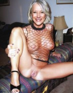 Helen Mirren Leaked Opens Her Legs Exposing Her Pussy Fakes 001