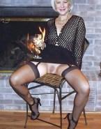 Helen Mirren Pantiless Up Skirt Vagina Exposed 001
