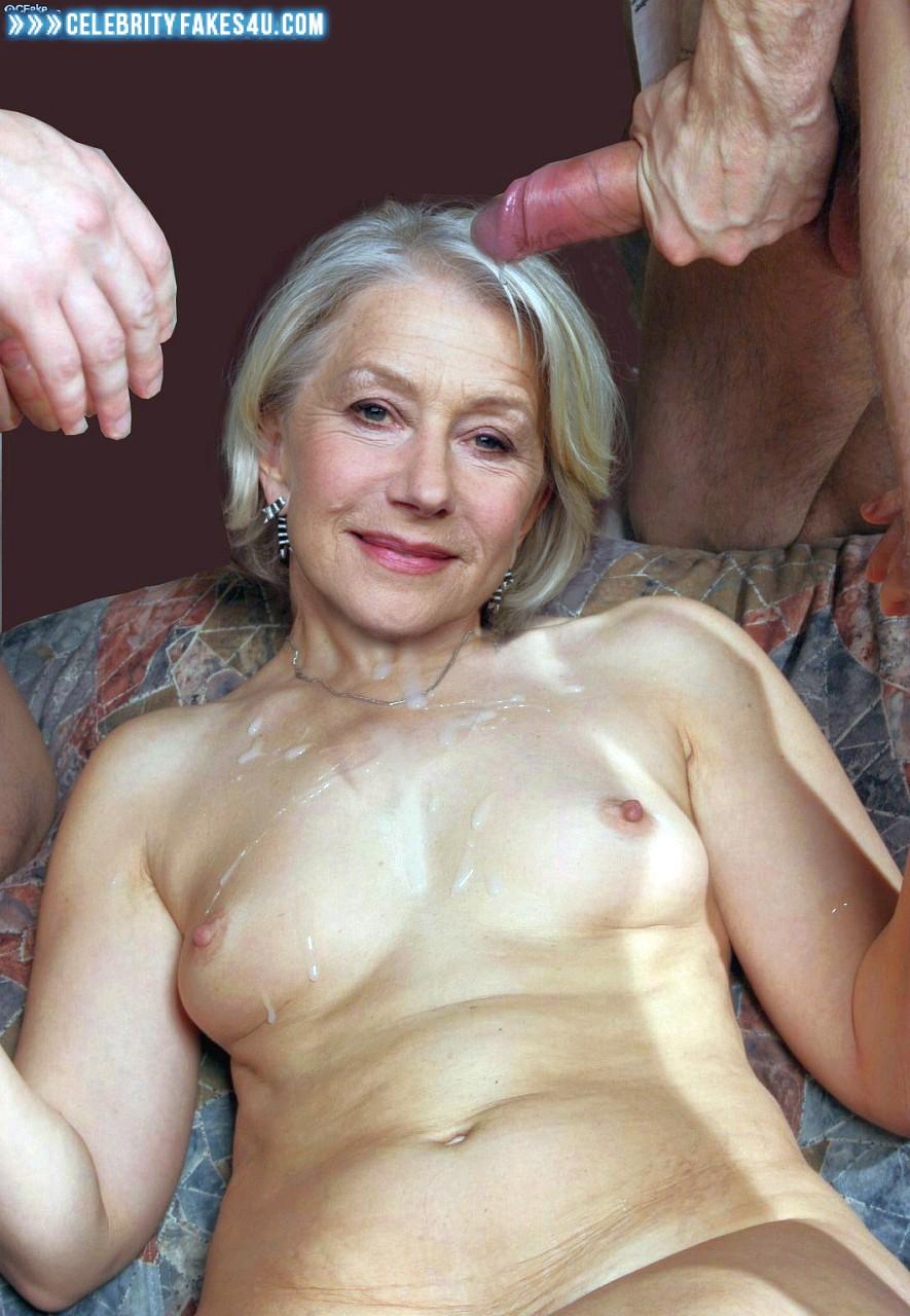 Helen Mirren Fake, Cumshot, Gangbang, Small Tits, Porn