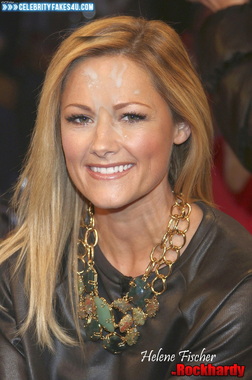 Helene Fischer Cumshot Facial 001 « Celebrity Fakes 4U