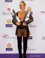 Helene Fischer Red Carpet Event See Thru Naked 001